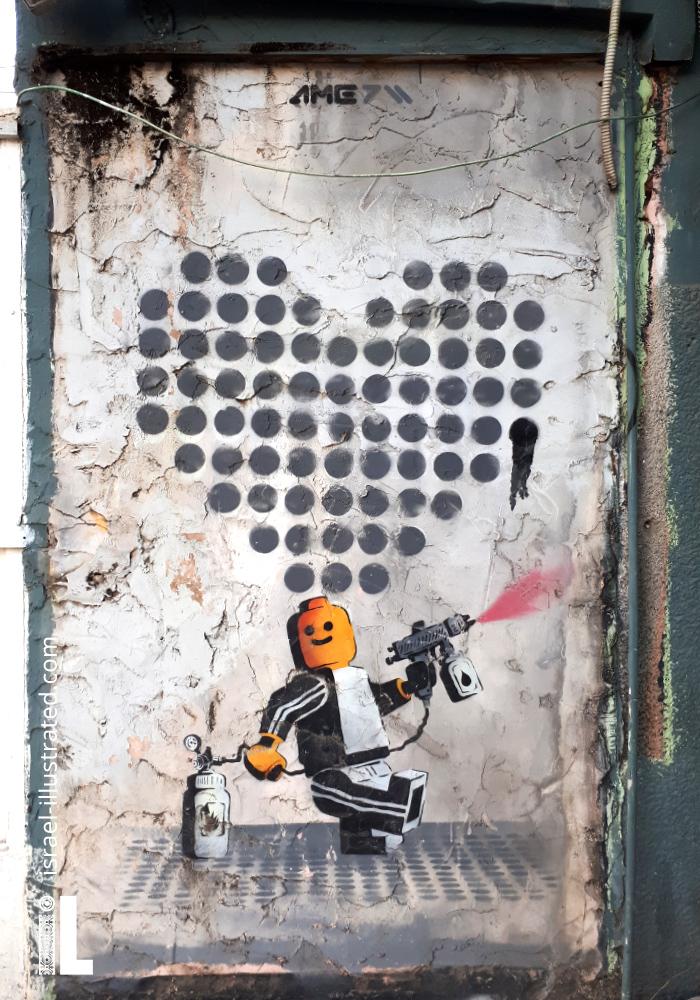 AME Playmobil Graffiti
