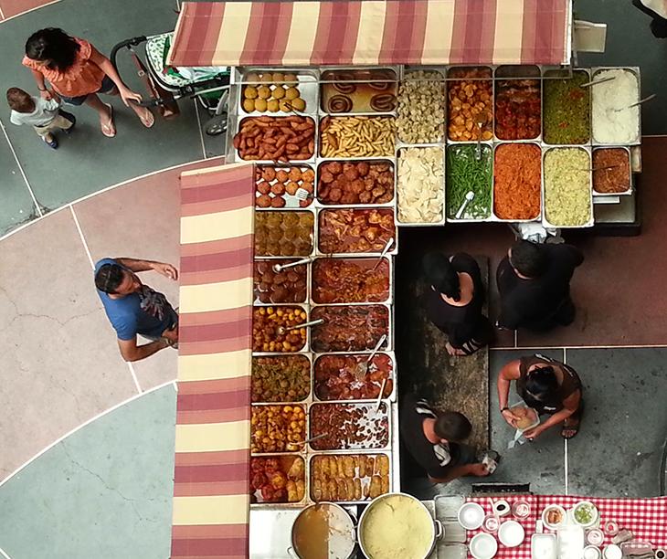 Israel food market