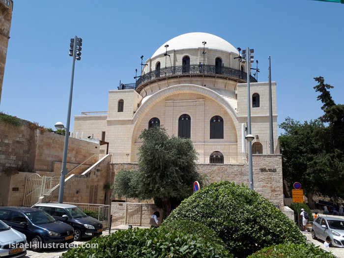 Reference photo for the Hurva Synagogue, Jerusalem.