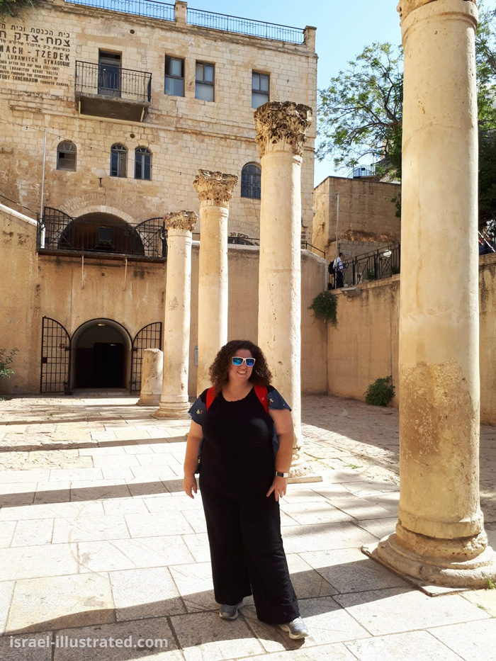 Lena at The Cardo, Jerusalem