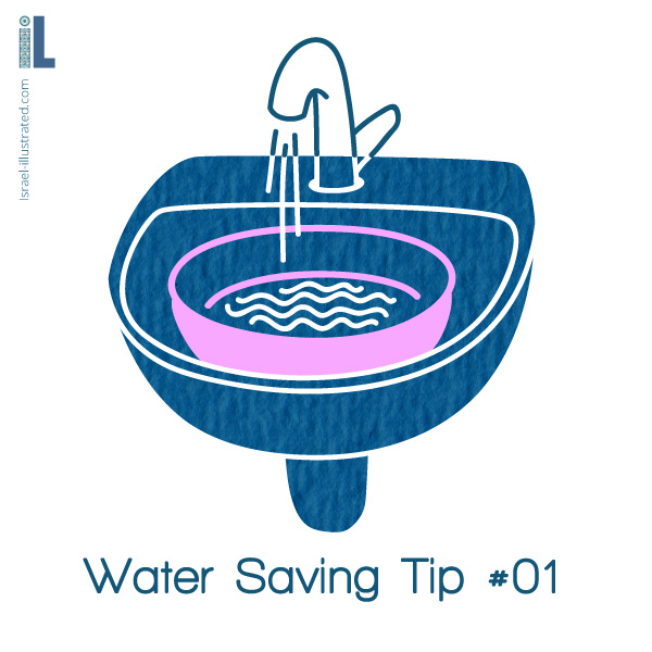 Water saving tip #1