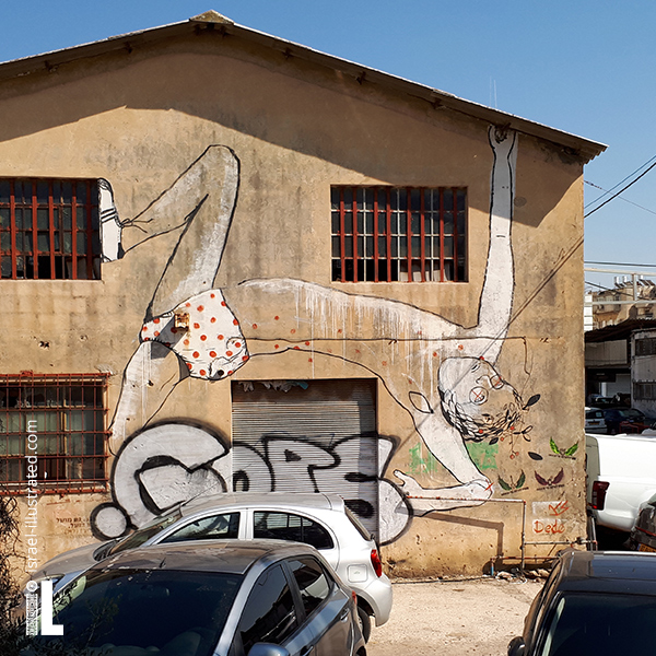 Dede - stretching out graffiti