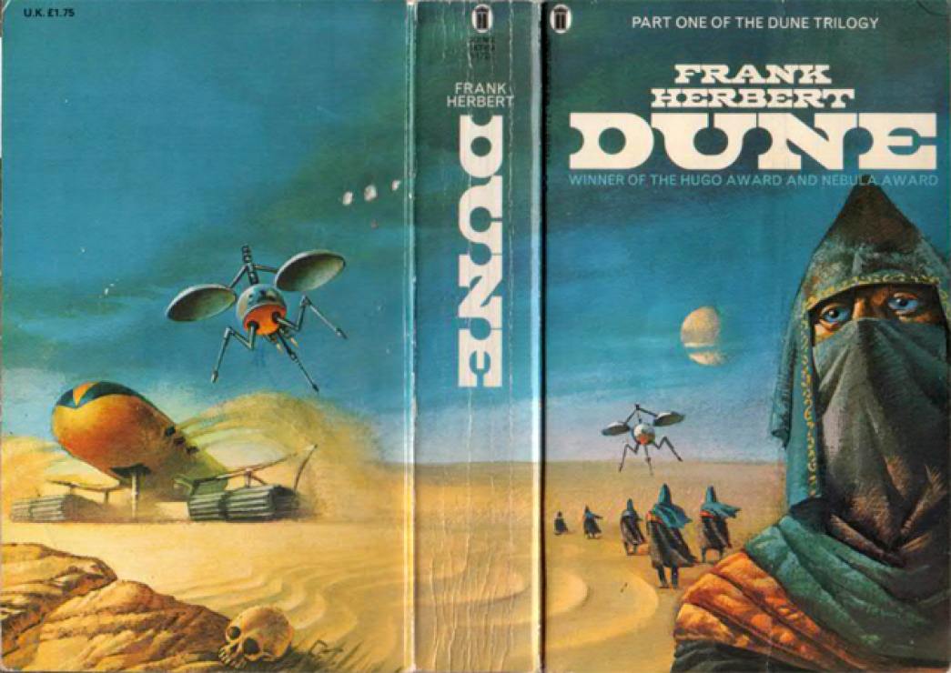 Dune - best book I know about desert survival :-)