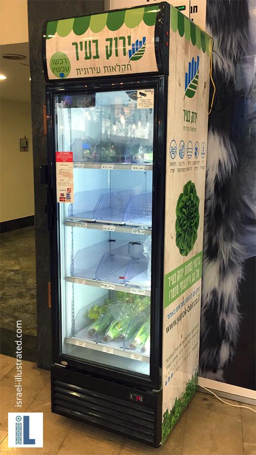 Hydroponic Farm Self service fridge