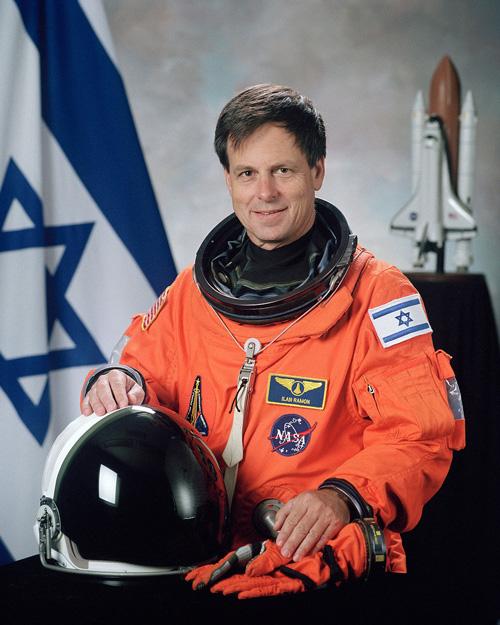Flag of Israel in Space!