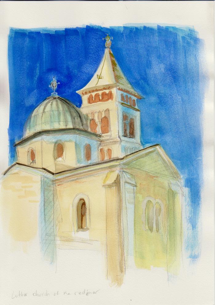 Illustrated log Jerusalem - Church of the Redeemer