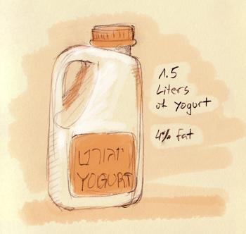Labane is made from yogurt