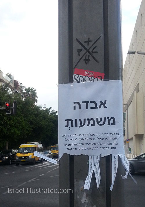 Meaning Lost - Tel Aviv Street Art