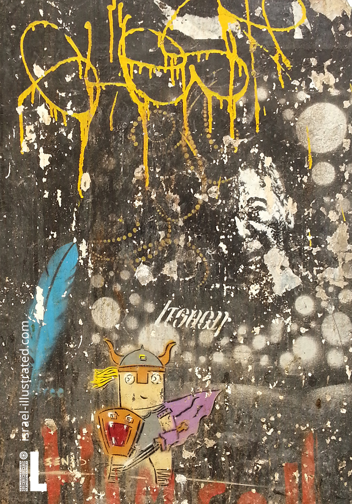 Amazing Layers Of Graffiti Creating A Rich Grunge Texture Tel Aviv Street Art With