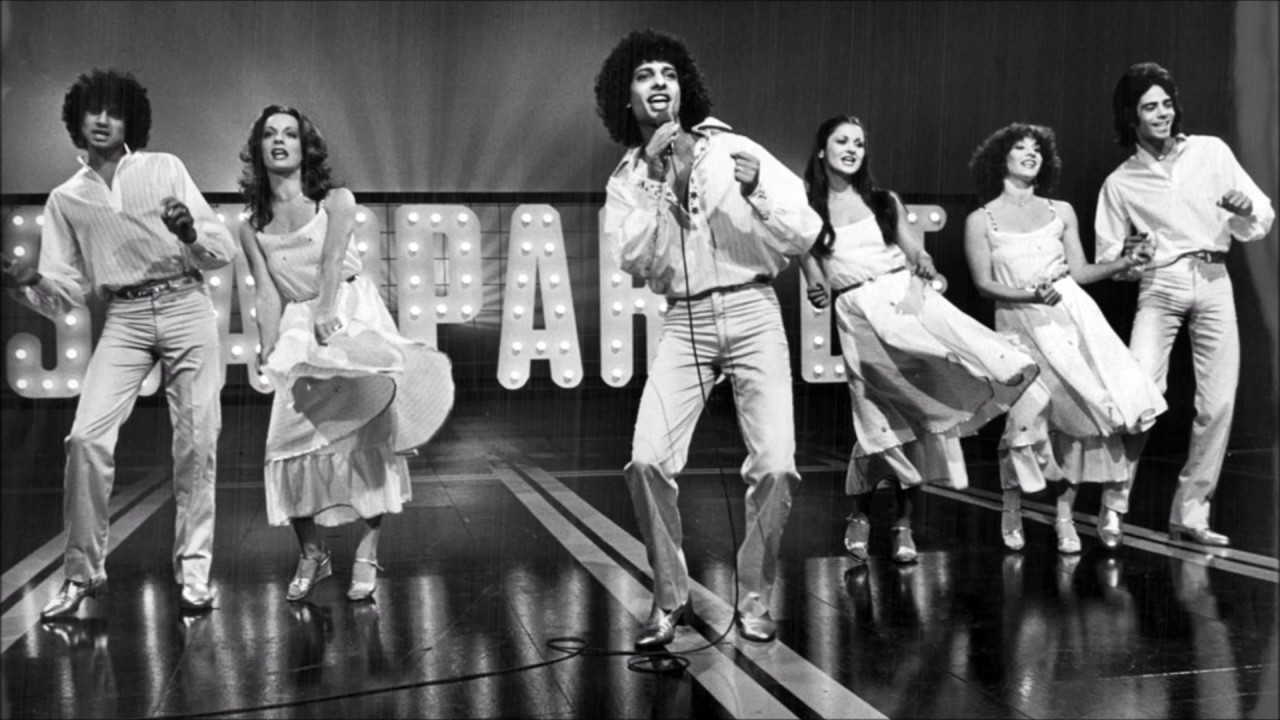 Izhar Cohen, in a disco outfit, 1978 Eurovision