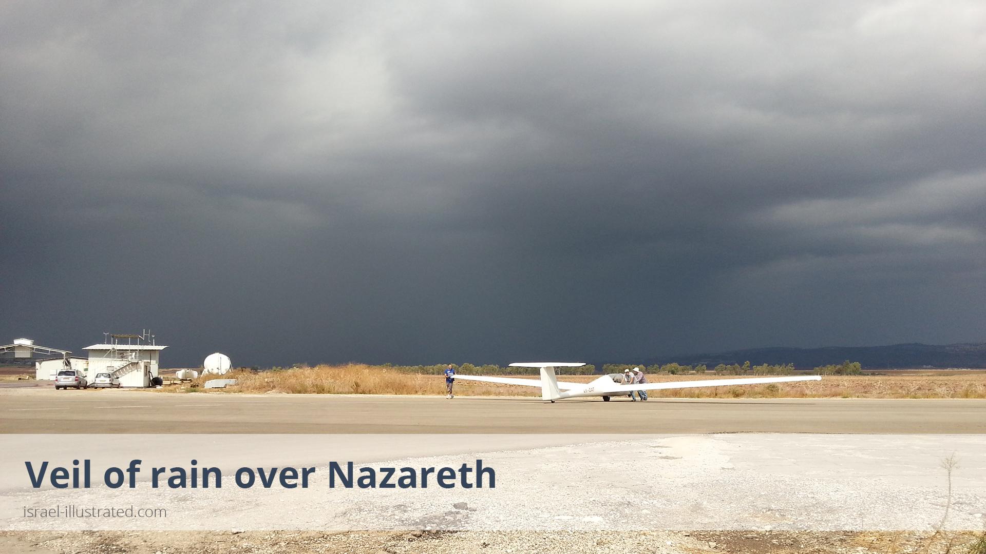 Rain over Nazareth