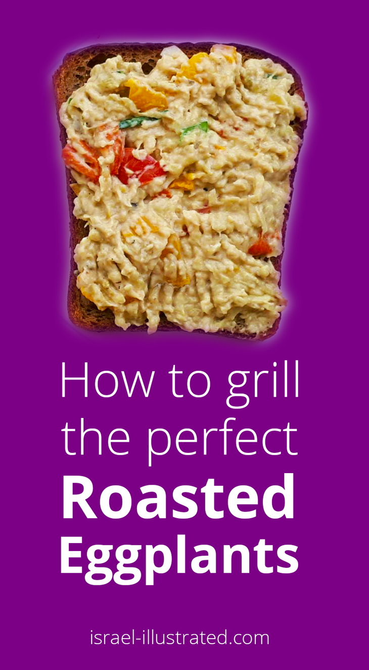 how to grill roasted eggplants